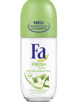 Fa Fresh & Dry Anti-Transpirant Duft des Grünen Tees  (50 ml) - 4015100009514