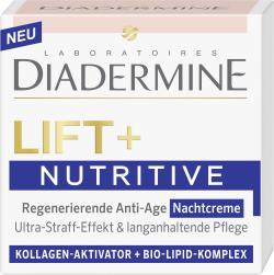 Diadermine Lift + Nutritive Regenerierende Anti Age Nachtcreme  (50 ml) - 4015001014174