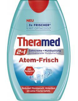 Theramed 2in1 Zahncreme + Mundsp�lung Atem-Frisch  (75 ml) - 4015100183986