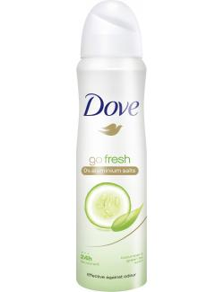 Dove Go fresh Deospray cucumber & green tea scent  (150 ml) - 8712561585606