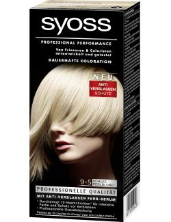 Syoss Professional Performance Coloration 9-5 k�hles Perlblond  (115 ml) - 4015100010428