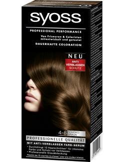 Syoss Professional Performance Coloration 4-8 Schokobraun  (115 ml) - 4015100010619