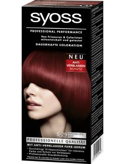 Syoss Professional Performance Coloration 5-29 intensives Rot  (115 ml) - 4015100010640