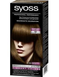 Syoss Professional Performance Coloration 4-88 Bernsteinbraun  (115 ml) - 4015100010527