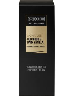 Axe Daily Fragrance Signature Pump Spray Oud Wood & Dark Vanilla  (100 ml) - 8710908266164