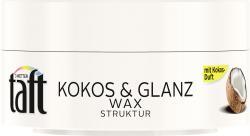 Schwarzkopf 3 Wetter Taft Kokos & Glanz Wax Struktur  (75 ml) - 4015100189353
