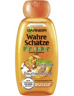 Garnier Wahre Schätze Shampoo für Kinder Aprikose und Baumwollblüte  (250 ml) - 3600541923331