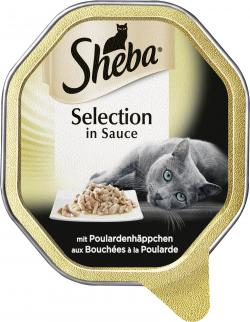 Sheba Selection in Sauce mit Poulardenhäppchen  (85 g) - 4008429069864