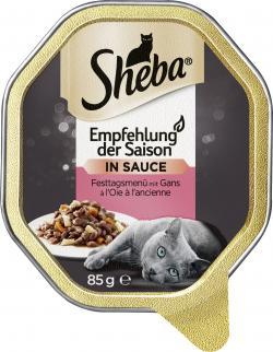 Sheba Empfehlung der Saison mit Lamm und Fr�hlingsgem�se  (85 g) - 4008429001475