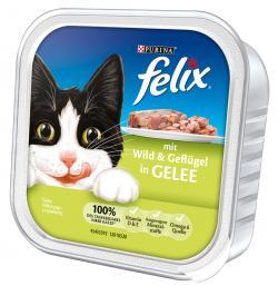 Felix mit Wild & Gefl�gel in Gelee  (100 g) - 4000487624504