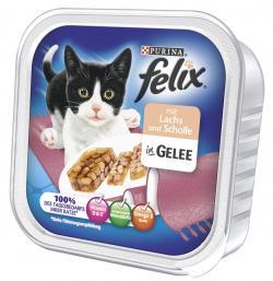 Felix mit Lachs & Scholle in Gelee  (100 g) - 4000487624702