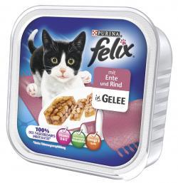 Felix mit Ente & Rind in Gelee  (100 g) - 4000487624603