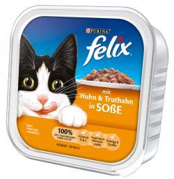 Felix mit Huhn & Truthahn in So�e  (100 g) - 4000487118300