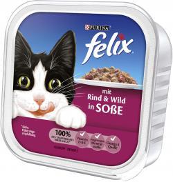 Felix mit Rind & Wild in So�e  (100 g) - 4000487118508