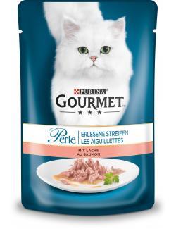 Gourmet Perle mit Lachs  (85 g) - 4000487225947