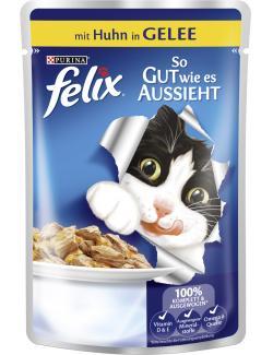 Felix So gut wie es aussieht mit Huhn in Gelee  (100 g) - 4000487226036