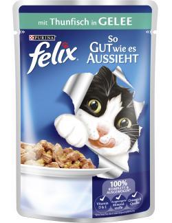 Felix So gut wie es aussieht mit Thunfisch in Gelee  (100 g) - 4000487226050