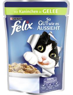 Felix So gut wie es aussieht mit Kaninchen in Gelee  (100 g) - 7613031294121