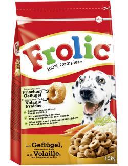 Frolic mit Geflügel, Gemüse & Reis  (1,50 kg) - 4008429033810