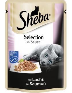 Sheba Cuisine mit Lachs in Sauce  (85 g) - 3065890096820