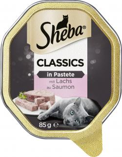 Sheba Classics mit Lachs  (85 g) - 4008429049316