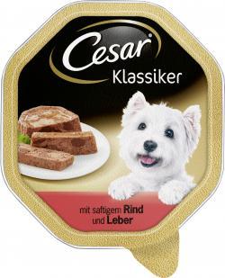 Cesar Klassiker mit Rind & Leber  (150 g) - 4008429511110