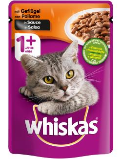 Whiskas 1+ mit Gefl�gel in Sauce  (100 g) - 4008429079603