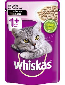Whiskas Adult in Sauce mit Lachs  (100 g) - 4008429079719