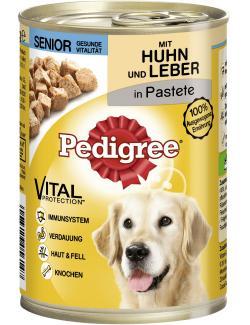 Pedigree Senior Pastete mit  Huhn & Leber  (400 g) - 4008429056147