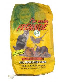 Für meine Freunde Natureinstreu aus gepresstem Stroh  (8 kg) - 4003870050157