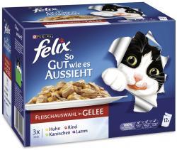 Felix So gut wie es aussieht mit Huhn, Rind, Kaninchen und Lamm  (12 x 100 g) - 7613031726400