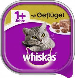 Whiskas 1+ mit Gefl�gel  (100 g) - 4008429049736