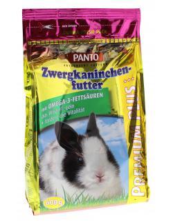 Panto Zwergkaninchen-Futter Premium  (600 g) - 4024109001382