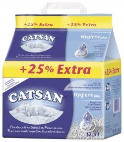 Catsan Katzenstreu Hygiene plus  (10 l) - 4008429015984
