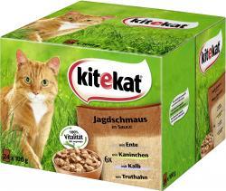 Kitekat Jagdschmaus in Sauce  (24 x 100 g) - 4008429016295