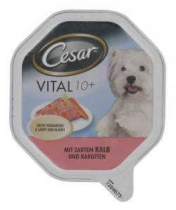 Cesar Vital 10+ mit zartem Kalb & Karotten  (150 g) - 4008429042584