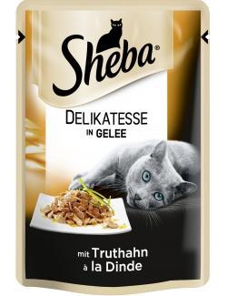 Sheba Delicato mit Truthahn in Gelee  (85 g) - 3065890104440