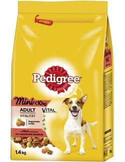 Pedigree Adult Mini Vital Protection mit Rind und Gemüse  (1,40 kg) - 5000166070904