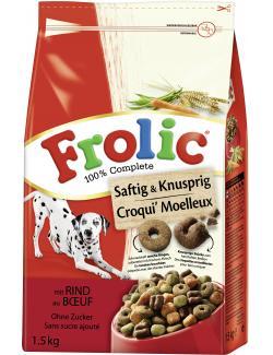 Frolic Saftig & knusprig mit Rind  (1,50 kg) - 5900951139499