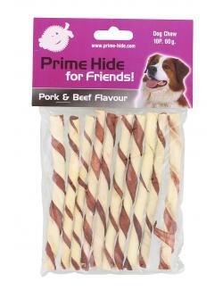 Prime Hide Pork & Beef Flavor Sticks  (10 St.) - 8714272151385