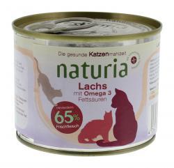 Naturia Lachs mit Omega 3 Fetts�uren  (200 g) - 4260169360322