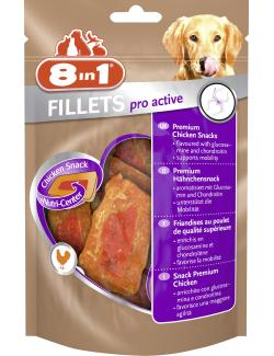 8in1 Fillets Pro Active Premium H�hnchenfilet S  (90 g) - 4048422111870