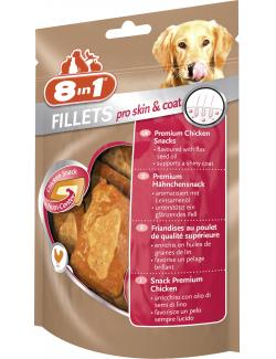 8in1 Fillets Pro Skin & Coat Premium Hähnchenfilet S  (80 g) - 4048422111900