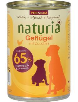 Naturia Geflügel mit Spinat  (410 g) - 4260169361169