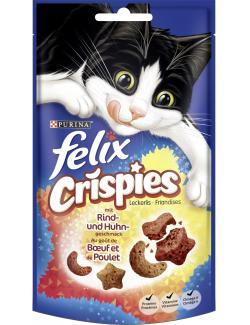 Felix Crispies mit Rind- und Huhngeschmack  (45 g) - 7613034290557