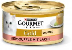 Gourmet Gold Eiersouffl� mit Lachs  (85 g) - 7613033628689