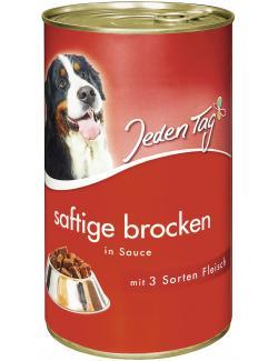 Jeden Tag Saftige Brocken in Sauce 3 Sorten Fleisch  (1,24 kg) - 4306180183486