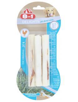 8in1 Delights Pro Dental Sticks mit Hähnchenfleisch  (3 St.) - 4048422117230