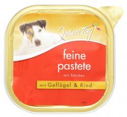 Jeden Tag Feine Pastete mit Geflügel & Rind  (300 g) - 4306180225711