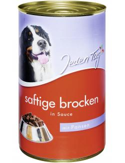 Jeden Tag Saftige Brocken in Sauce Pansen  (1,24 kg) - 4306180183639